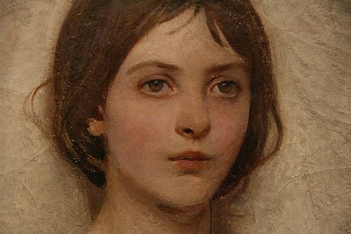 Angel - Abbott Handerson Thayer: Portraits Painting, Art Inspiration, Handerson Thayer, Angel Faces, Angel Details, Angel Art, Faces Details, Art Galleries, Abbott Handerson