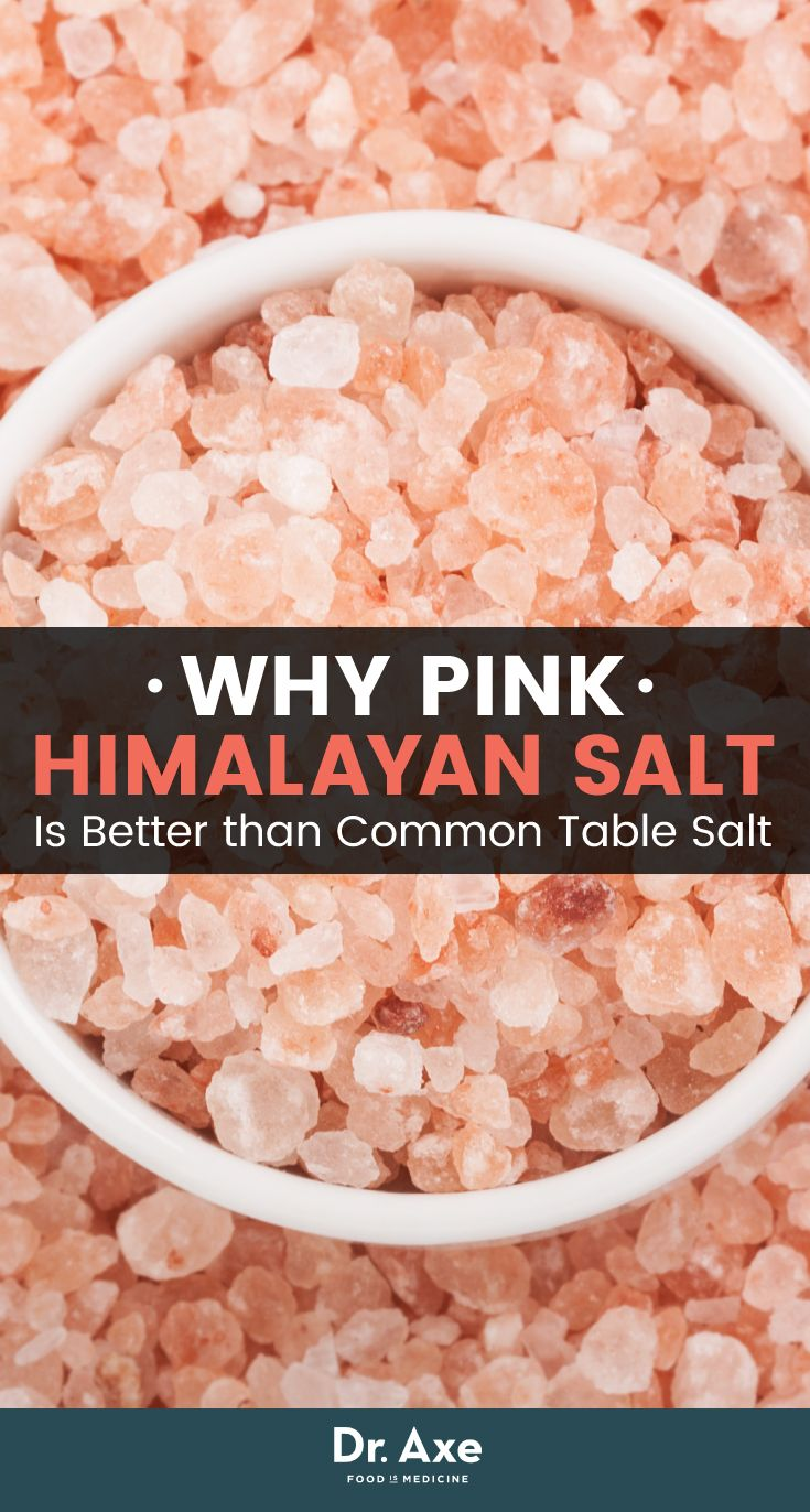 Not all salt is created equal!