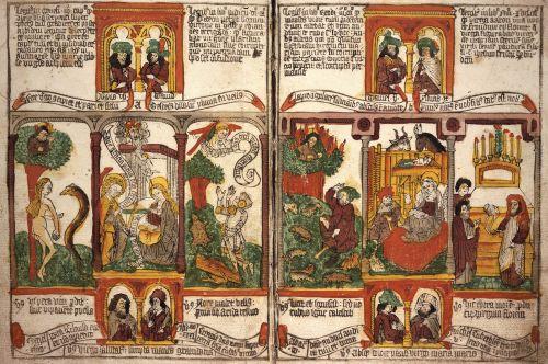 Biblia pauperum ca. 1460