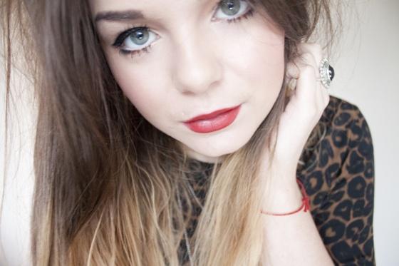"Revlon ""Really Red"" lipstick"