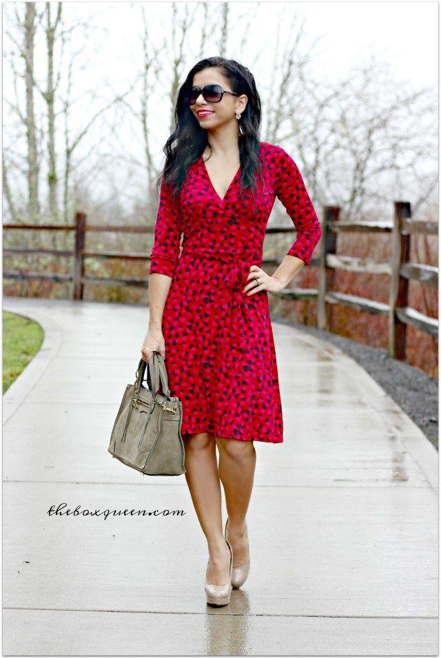 Leota Reye Jersey Faux Wrap Dress, Stitch Fix Reviews, Stitch Fix Dress