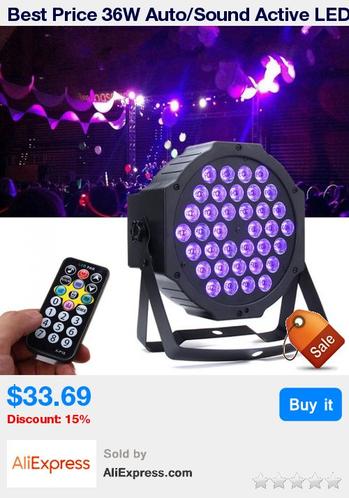 Best Price 36W Auto/Sound Active LED Stage Light DMX LED Stage Lighting Effect L…