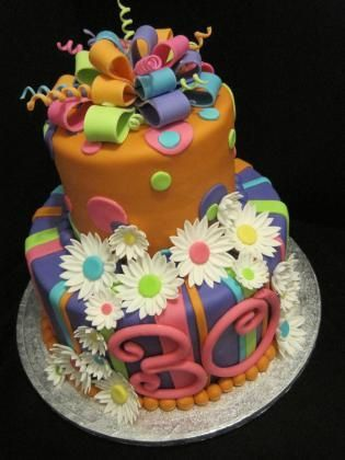 Birthday Cakes For 30 Year Old Woman Number Birthday Cake Saiba