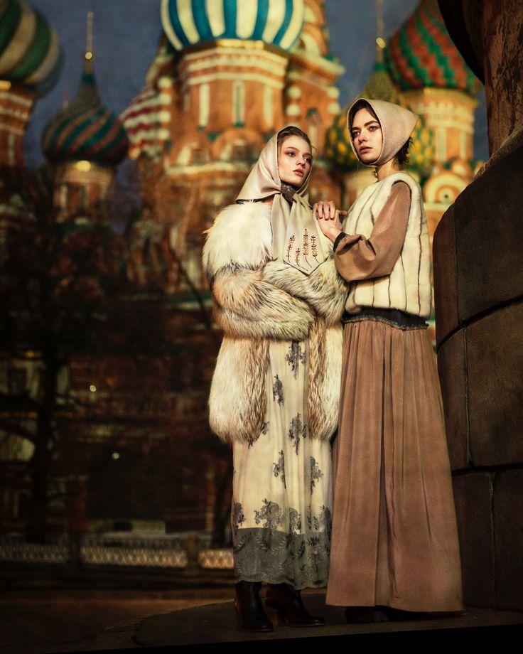 Colors of Russia  Stylist : Maria Kolosova  Models : Avante models Russia Assistent : SBF Moscow