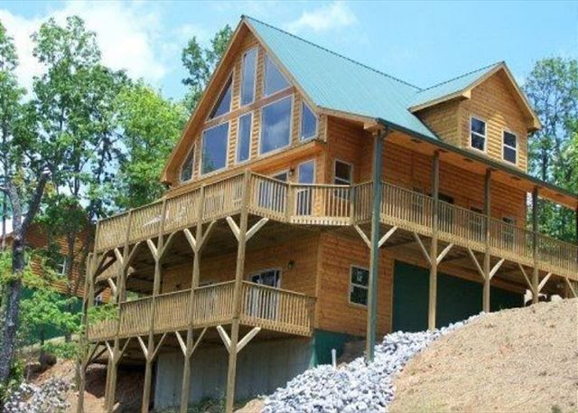 Paradise Retreat Georgia Mountain Rentals Luxury Cabin Mountain Rental Retreat