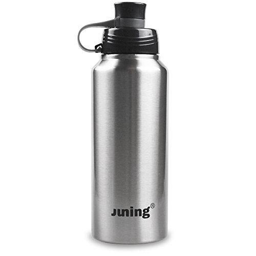 juning Bouteille d'eau Sports Bouteille isotherme 900ml Bouteille en acier inoxydable isolée: L'excellente avoin ColorLife Sport bouteille…