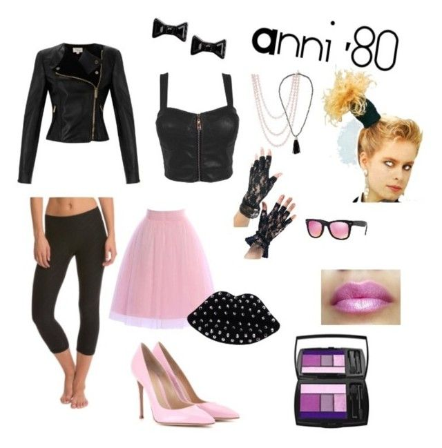 """Anni '80"" by keila-87 on Polyvore featuring moda"