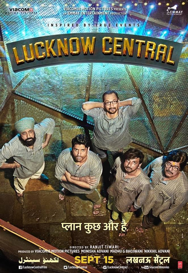bollywoodmirchitadka: Lucknow Central Movie First look Poster