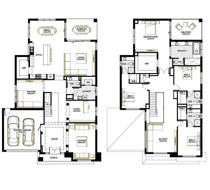 Home Designs House Plans Melbourne Carlisle Homes Family House Plans Double Storey House Plans House Plans