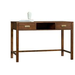 @Overstock - Materials: Birch veneer, select hardwoods  Finish: Mahogany  Open storage compartmenthttp://www.overstock.com/Home-Garden/Broyhill-Inspirations-Mission-Nuevo-Laptop-Desk/6165650/product.html?CID=214117 $200.99