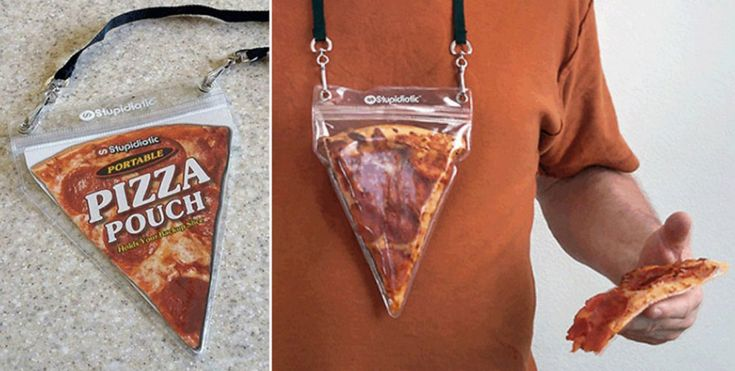 Never be without pizza ever again with the pizza necklace