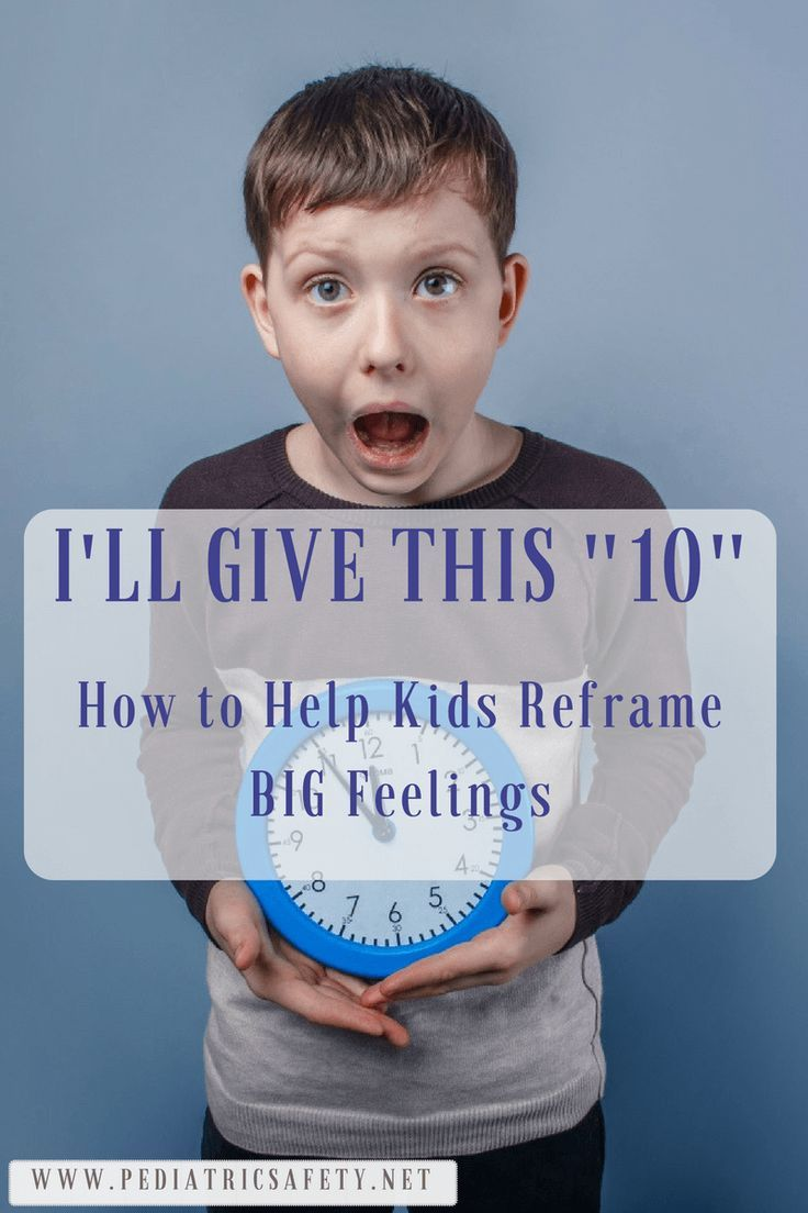"""I'll Give This """"10"""": How to Help Kids Reframe BIG Feelings  All kids experience big feelings and emotions - especially during high stress times like holidays or parties! """"I'll give this 10"""" is a terrific, practical tool by child psychologist Dr Lynne Kenney that you can use with your child to help them lower their stress."""
