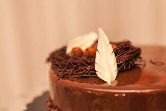Шоколадное перышко