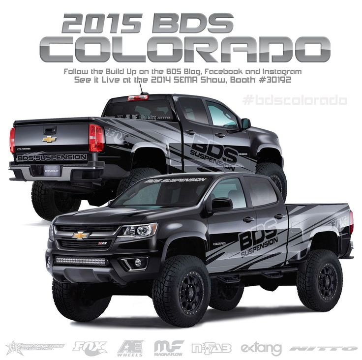 BDS Suspension has given us a sneak peek at their 2015 Chevy Colorado SEMA Show build and it's definitely awesome. Check out what BDS has in store for SEMA!