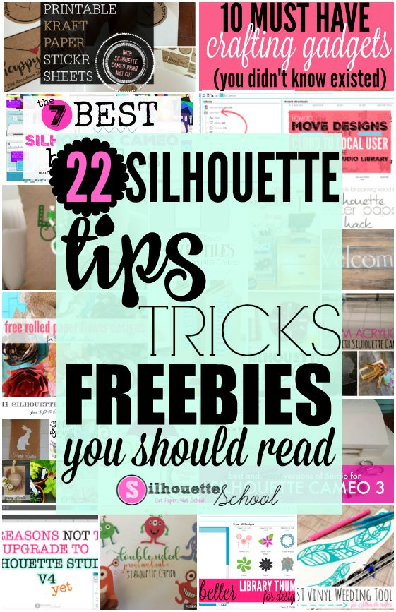 It's hard to believe that March has come and gone and with that 22 more Silhouette CAMEO tutorials, tips, tricks, and freebies have hit Silhouette School Blog! If you missed any of it - you're in luck