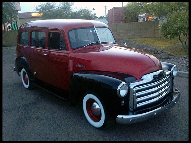 1951 Chevrolet Suburban 235 CI, 3-Speed at Mecum Auctions
