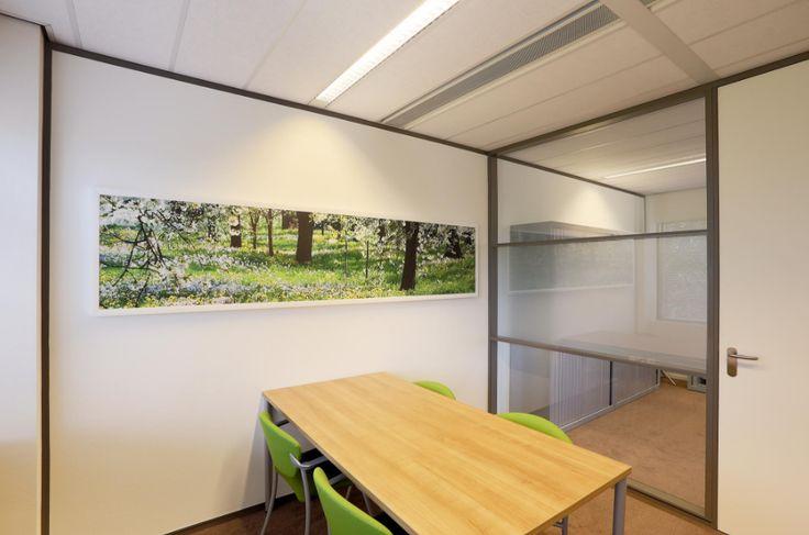 De panelen kunnen worden voorzien worden van een fotoprint. #Intermontage #IBPInterieurbouw