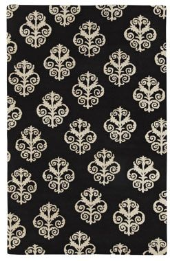 Inspired By The Iron Scrollwork And Railings Found At Biltmore House In  Asheville, N., The Stylized Pattern Of Balustrade By Capel Rugs Creates An  Elegant ...
