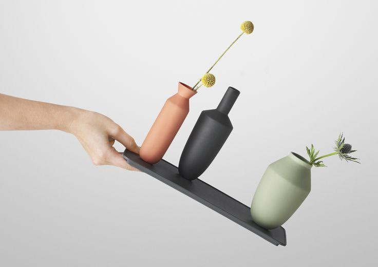 Balance vase set / Design by Hallgeir Homstvedt / Muuto