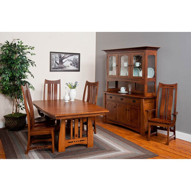 Furniture Wooden Dining Chairs, Dining Room Set Made In Usa