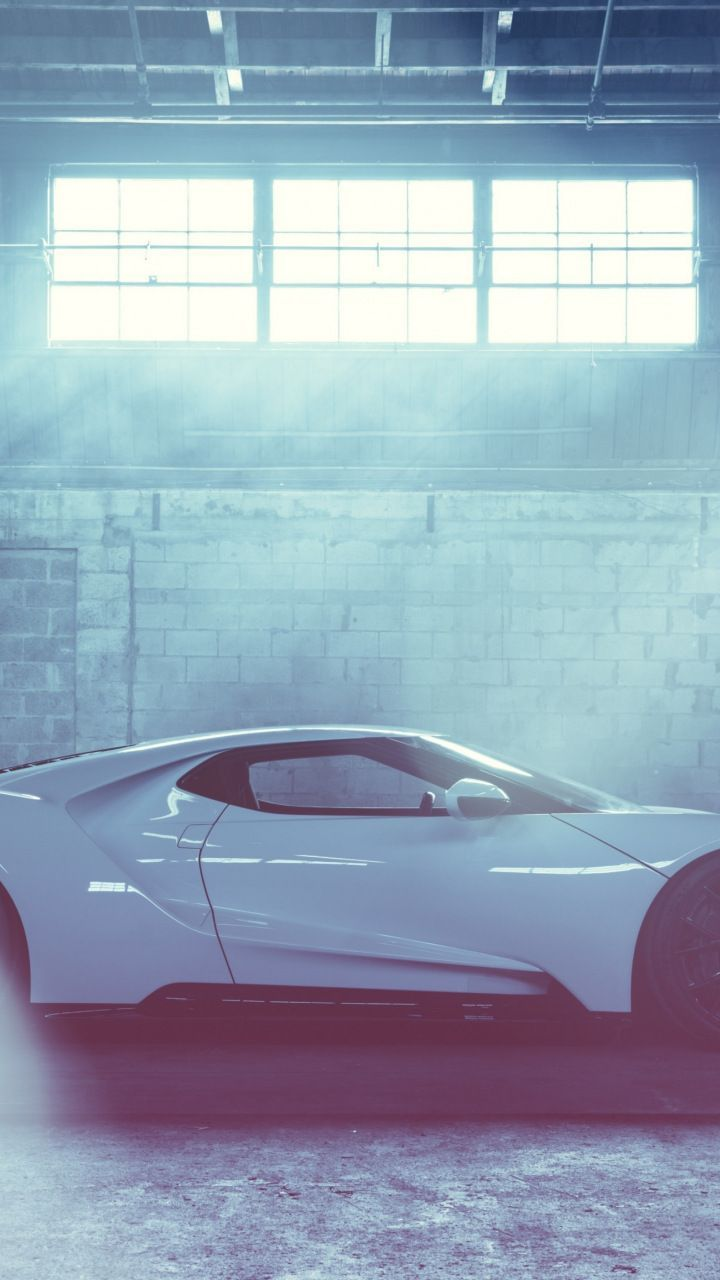 Excellent Wallpaper Ford Gt White Sports Car 7201280 Wallpaper Ford Gt Sports Car Car