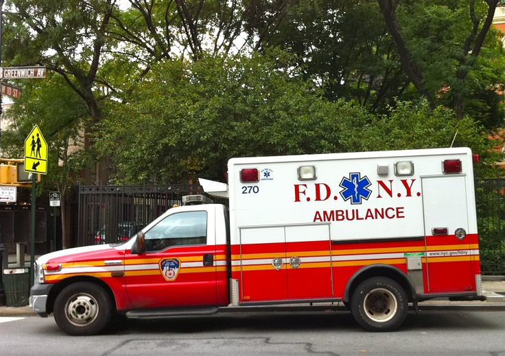 FDNY Ambulance in NYC Photo by EMS EMT