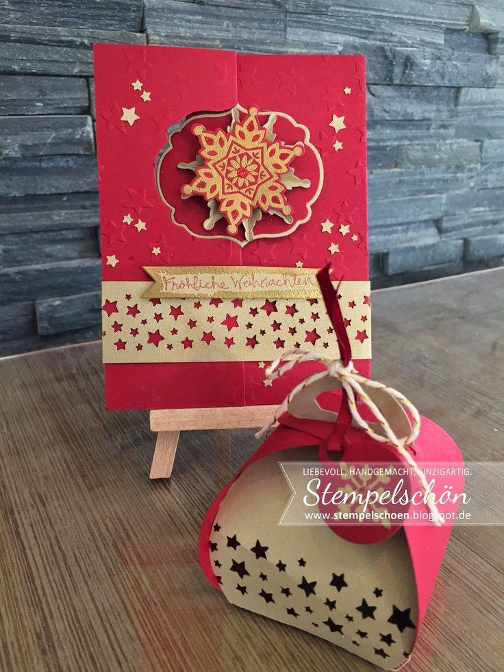 Stempelschön: Weihnachten ROT-GRÜN