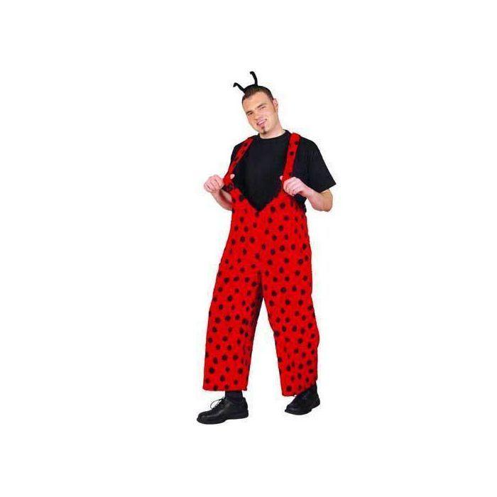 kostuem pluesch marienkaefer herren karneval verkleidung