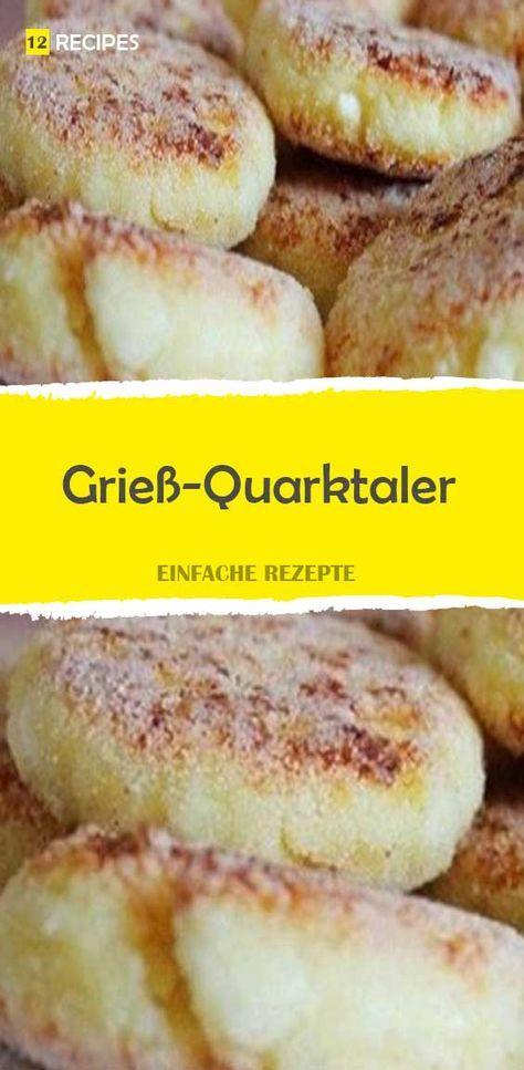 Grieß-Quarkaler – 12Rezepte   – Backen