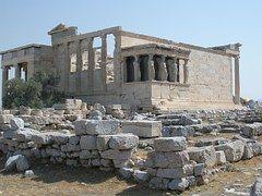Partenón, Carytids, Acrópolis, Atenas