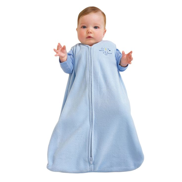 HaloSleep.com - HALO® SleepSack® Wearable Blanket Micro-fleece |  Blue, $25.00 (http://www.halosleep.com/halo-sleepsack-wearable-blanket-micro-fleece-blue/)