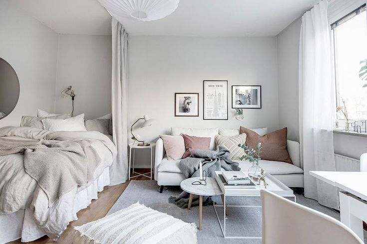 15 Stylish Ways To Decorate A Studio Apartment