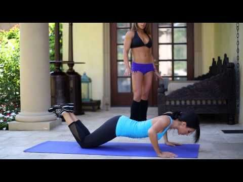 You don't need a gym to get in shape! Just follow Lauren and Jen's moves and learn a new full-body exercise routine that can be performed at home, or during your holiday travels, using only your body-weight and minimal easy-to-pack equipment via Jennifer Stano!!