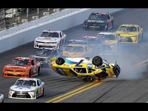 17 best NASCAR crashes images on Pinterest   Nascar crash, Motosport