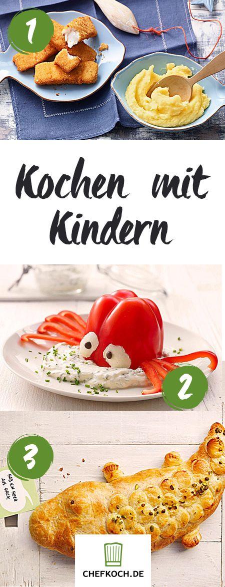 Kochen für Kinder - Pausenbrot, Mittagessen & Co