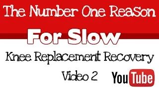 Knee Replacement Recovery - YouTube