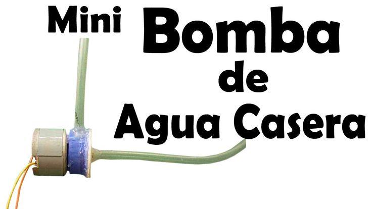 Mini Bomba De Agua Casera (Fácil de hacer)