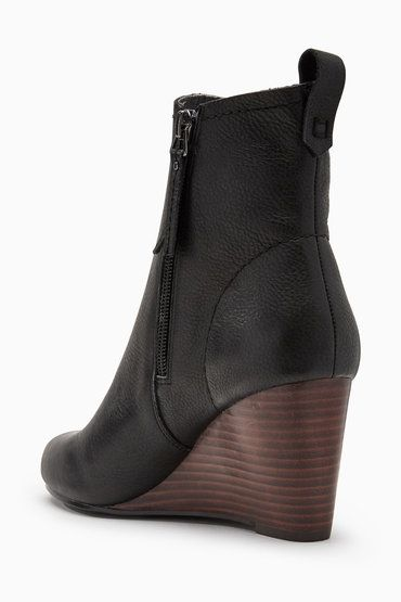 Next Unlined Wedge Boots