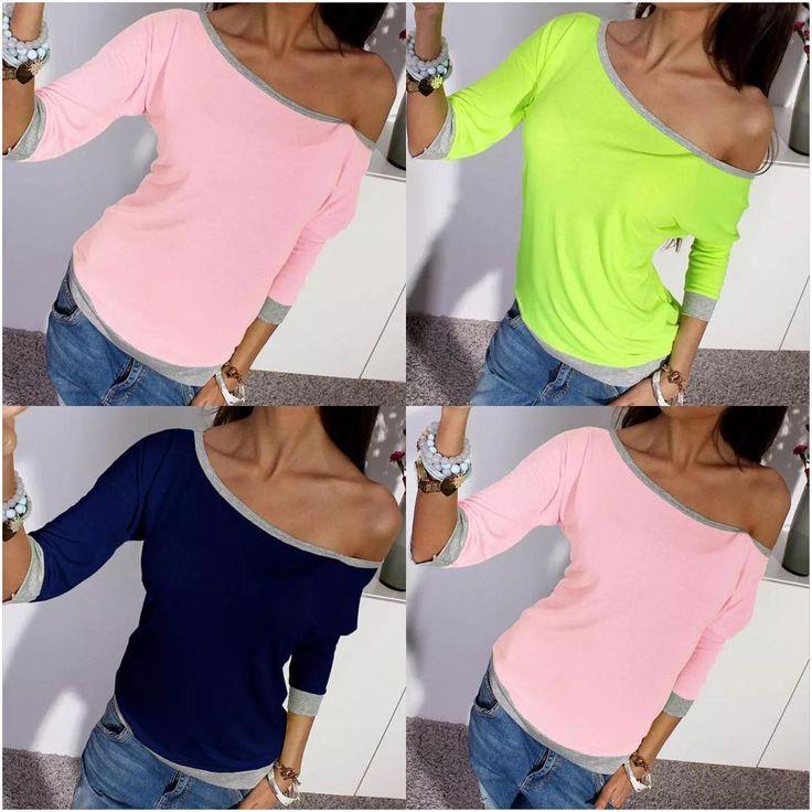 Krásny letný svetrík,veľkosti:S,M,L,XL..farby:ako na foto,10€/ks #amazing #neongreen #pink #darkblue #zelena #modra #ruzova #top #sveter #tricko #sweater #tshirt #woman #women #girl #girls #fashion #moda #eshop #shop #moda http://butimag.com/ipost/1491130308391953223/?code=BSxjx15hWNH