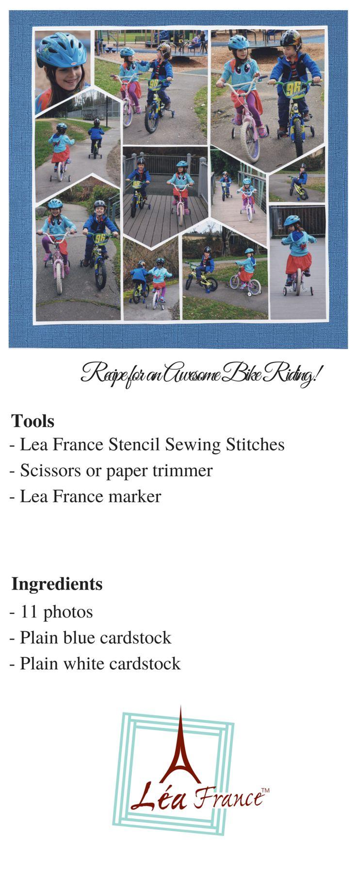 475 best scrapbooking lea france stencil images on pinterest