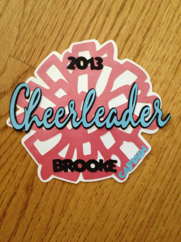Cheer locker decoration