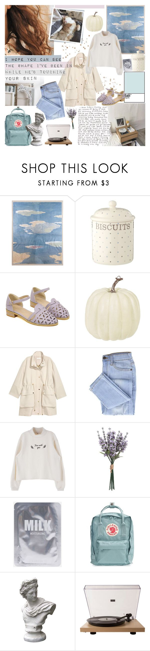 """""""YOU FLOWER, YOU FEAST"""" by cappvccino ❤ liked on Polyvore featuring Natural Curiosities, Fjällräven, Market and Crosley Radio & Furniture"""
