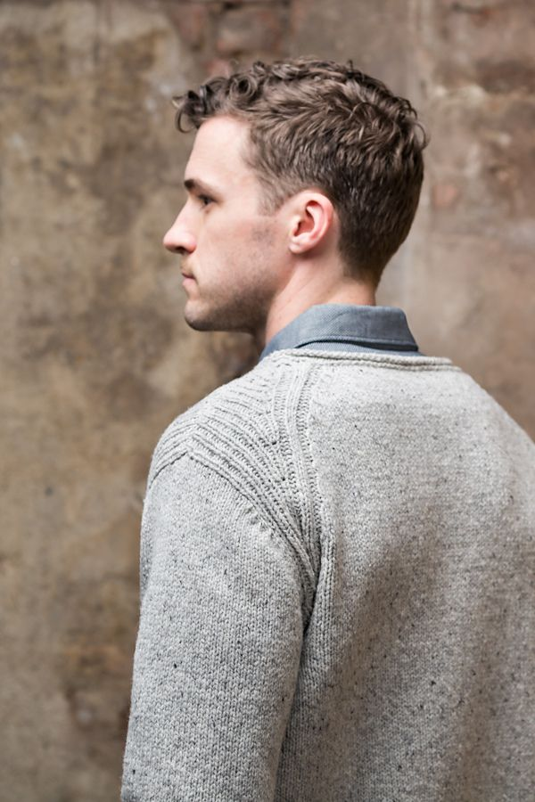 Вязаный мужской пуловер Rift