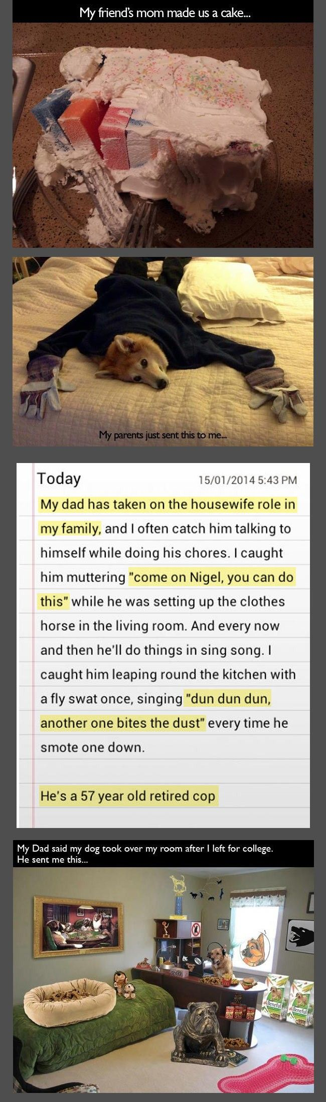 33 Brilliantly Funny Pranks That Parents Pulled On Their Kids.