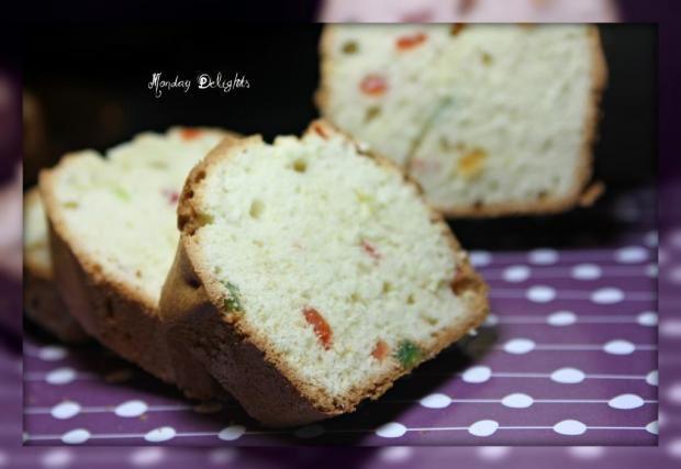 самый простой рецепт Пьера Эрме. Лимонный кекс (Desserts by Pierre Herme)