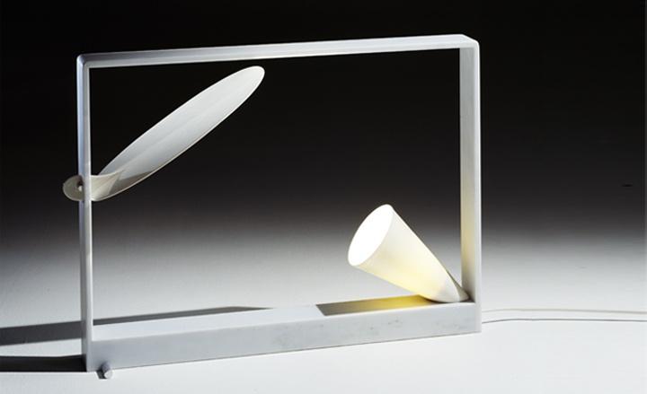 Ellise table lamp, by Andrea Branzi at Design Gallery Milano/Ventura Lambrate/Preview Milano 2013