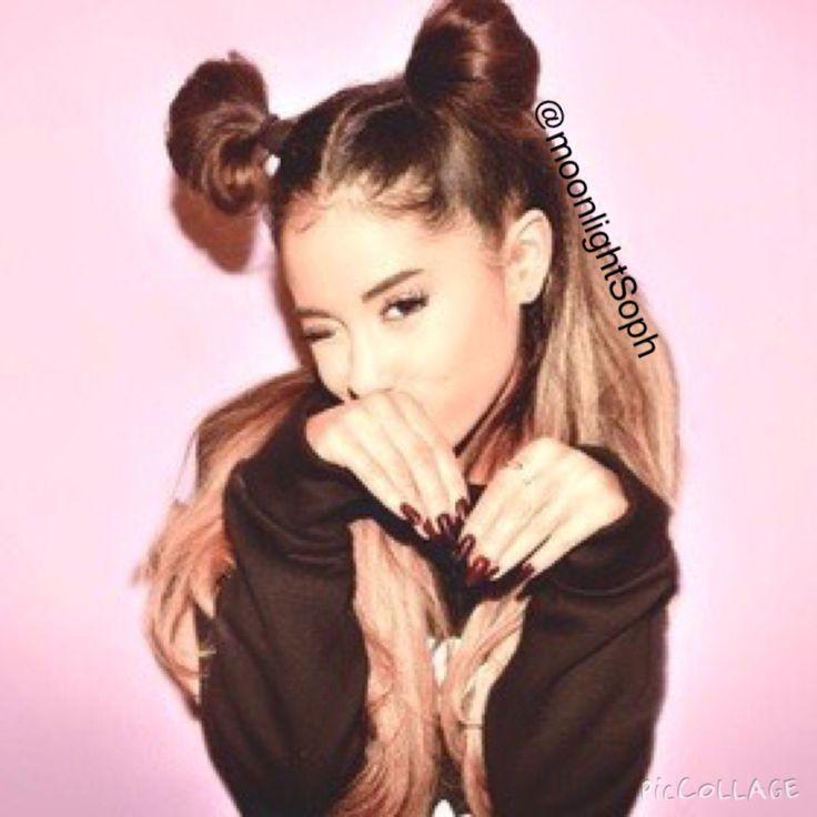 Ariana looks so pretty with space buns | ariana grande ...