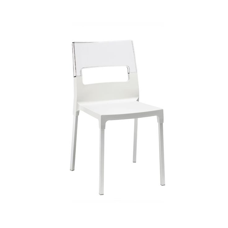 Made of a technopolymer seat with glass fibre and anodised aluminum le at My Italian Living Ltd