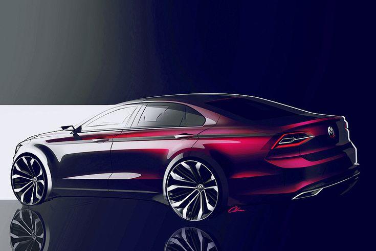 VW New Midsize Coupé: Peking 2014 - Bilder - autobild.de