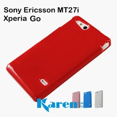 Sony Ericsson ST27i / Xperia Go Rubber TPU Candy Shell Soft Case Cover